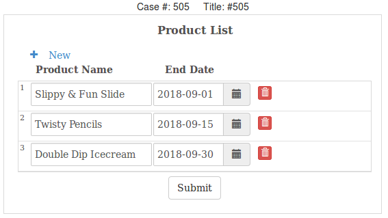 Setting min date, max date and default date in datetime fields in